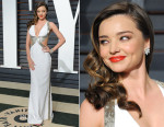 Miranda Kerr In Emilio Pucci - 2015 Vanity Fair Oscar Party