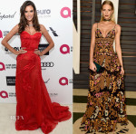 Models @ The 2015 Oscars Parties