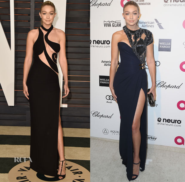Models @ The 2015 Oscars Parties 2