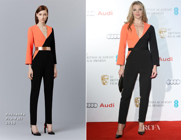 Natalie Dormer In Roksanda - EE British Academy Awards Nominees Party