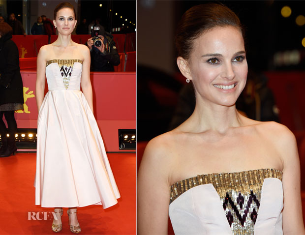 Natalie Portman In Christian Dior - 'As We Were Dreaming' Berlin Film Festival Premiere
