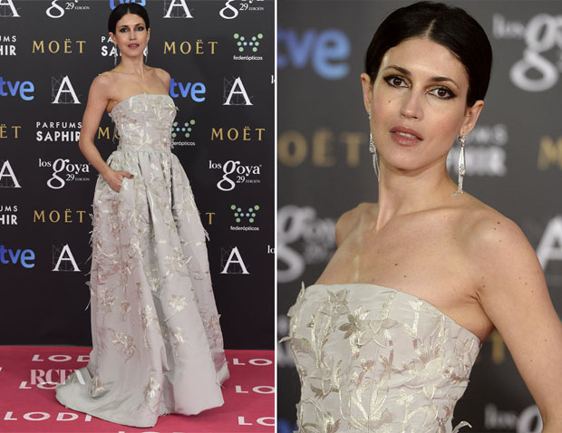 Nerea Barros In Oscar de la Renta - 2015 Goya Awards