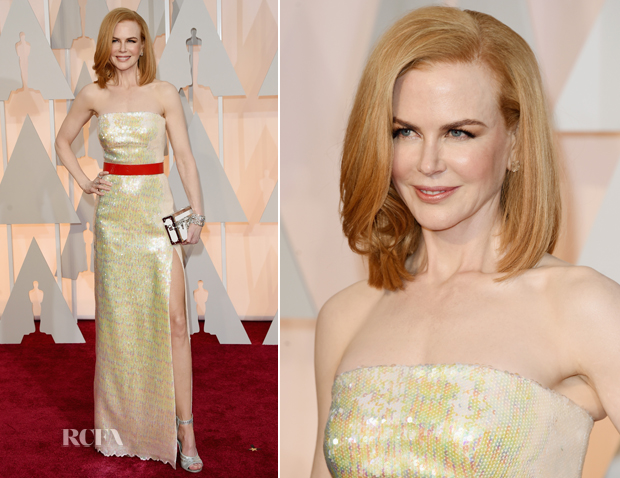Nicole Kidman In Louis Vuitton - 2015 Oscars