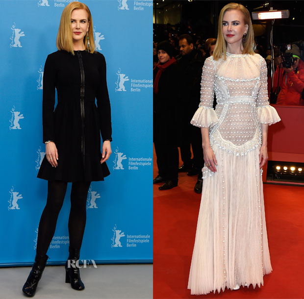 Nicole Kidman In Louis Vuitton & Valentino Couture - 'Queen of the Desert' Berlin Film Festival Photocall & Premiere
