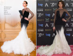 Nieves Alvarez In Stéphane Rolland Couture - 2015 Goya Awards