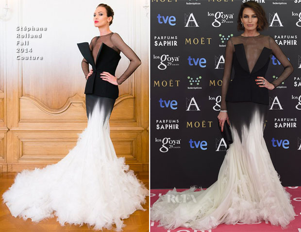 Nieves Alvarez In Stéphane Rolland - 2015 Goya Awards