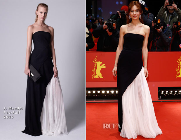 Olga Kurylenko In J Mendel - Berlin Film Festival Closing Ceremony