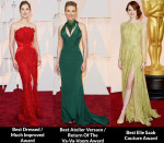 2015 Oscars Fashion Critics' Roundup