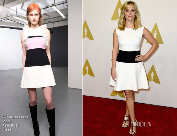 Reese Witherspoon In Giambattista Valli PF15 - 87th Academy Awards Nominee Luncheon