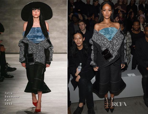 d48162a7cd5bd Rihanna In Julia Seemann - adidas Originals x Kanye West Yeezy Season 1