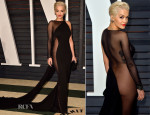 Rita Ora In Donna Karan Atelier - 2015 Vanity Fair Oscar Party