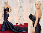 Rita Ora In Marchesa - 2015 Oscars