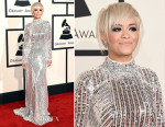 Rita Ora In Prada - 2015 Grammy Awards