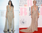 Rita Ora In Zuhair Murad Couture - 2015 BRIT Awards