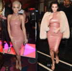 Rita Ora & Kim Kardashian In Atsuko Kudo - Mert & Marcus House of Love Party for Madonna