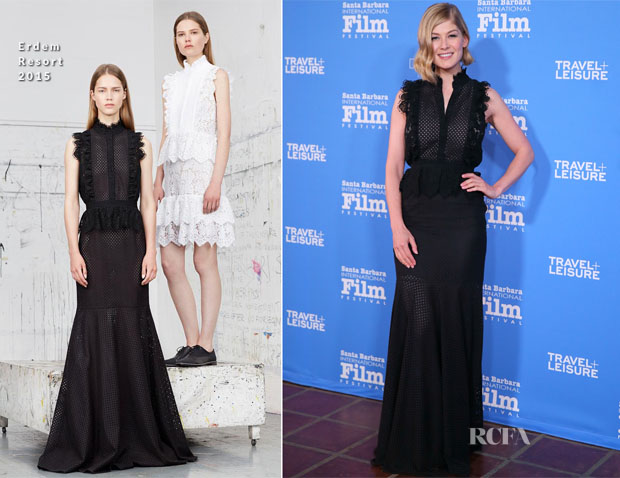 Rosamund Pike In Erdem - Virtuoso Awards30th Santa Barbara International Film Festival