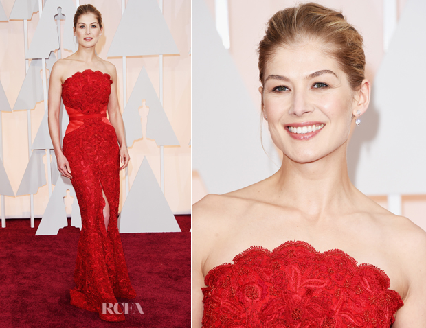 Rosamund Pike In Givenchy - 2015 Oscars