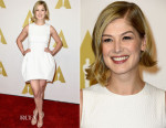 Rosamund Pike In Vionnet - 87th Academy Awards Nominee Luncheon