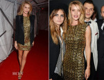 Rosie Huntington-Whiteley In Antonio Berardi & Balmain - The Universal Music Brits Party