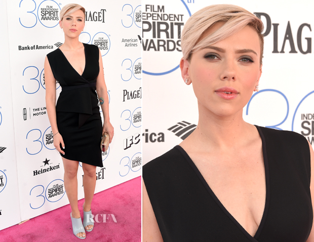 Scarlett Johansson In Bec & Bridge - 2015 Film Independent Spirit Awards_2