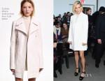 Sienna Miller In Calvin Klein - Calvin Klein Fall 2015 Show