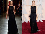 Sienna Miller In Oscar de la Renta - 2015 Oscars