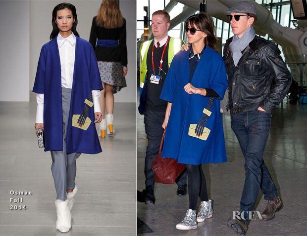 Sophie Hunter In Osman - London Heathrow Airport