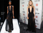 Suki Waterhouse In Balmain - Vanity Fair Celebrates Young Hollywood