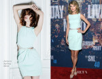 Taylor Swift In Azzaro - SNL 40th Anniversary Celebration