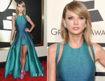 Taylor Swift In Elie Saab - 2015 Grammy Awards