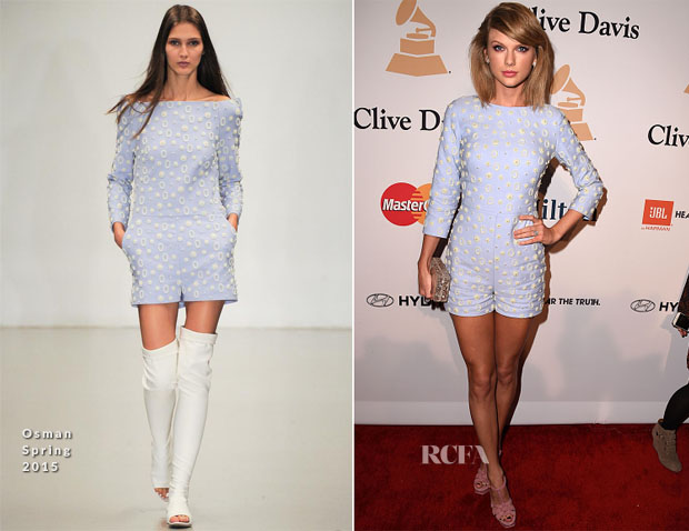 Taylor Swift In Osman - Pre-GRAMMY Gala And Salute Honouring Martin Bandier