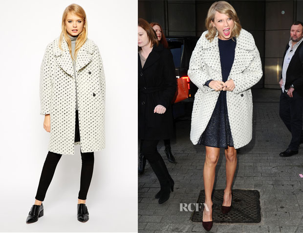 Taylor Swift's ASOS Cocoon Coat