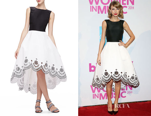 Taylor Swift's Oscar de la Renta High-Low Dress