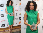 Tessa Thompson In Reem Acra - 6th Annual AAFCA Awards