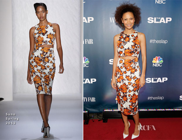 Thandie Newton In Suno - 'The Slap' New York Premiere Party