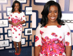 Uzo Aduba In L.K. Bennett - 8th Annual ESSENCE Black Women In Hollywood Luncheon