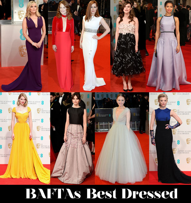 Who Was Your Best Dressed At The 2015 BAFTAs 2