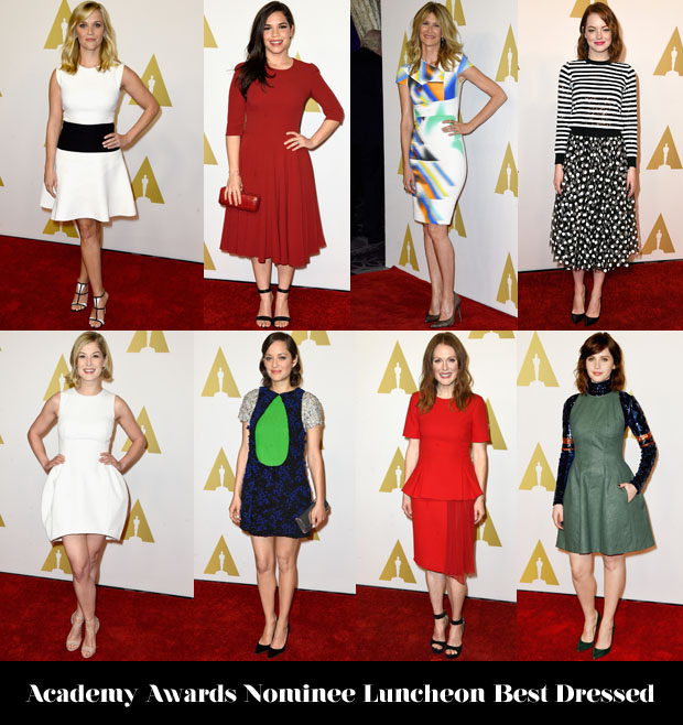Who Was Your Best Dressed At The Academy Awards Nominee Luncheon