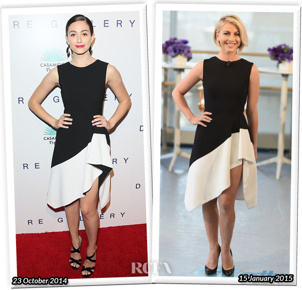 Who Wore Camilla and Marc Better Emmy Rossum or Julianne Hough