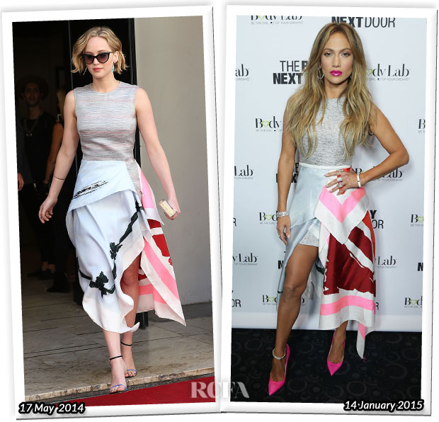 Who Wore Christian Dior Better Jennifer Lawrence or Jennifer Lopez