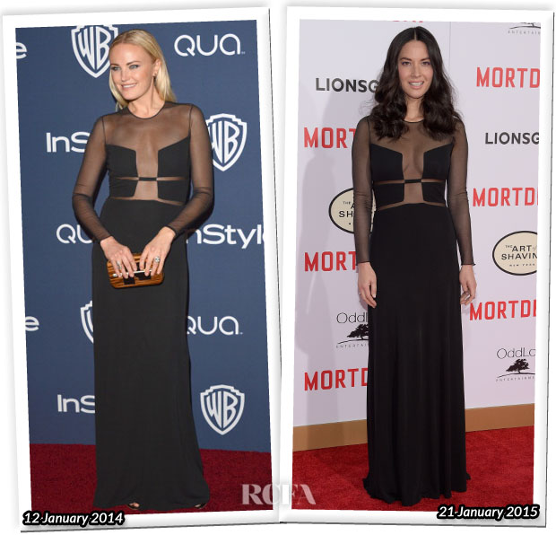 Who Wore Ralph Rucci Better Malin Akerman  or Olivia Munn