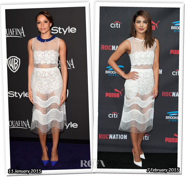 Who Wore Self-Portrait Better Carmen Ejogo or Priyanka Chopra