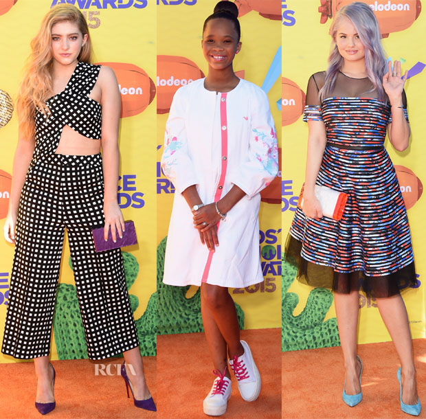 2015 Nickelodeon Kids' Choice Awards Red Carpet Roundup