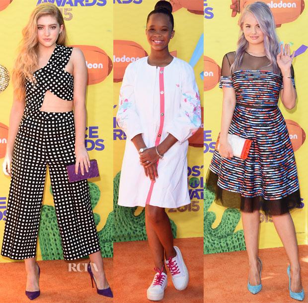2015 Nickelodeon Kids' Choice Awards Red Carpet Roundup