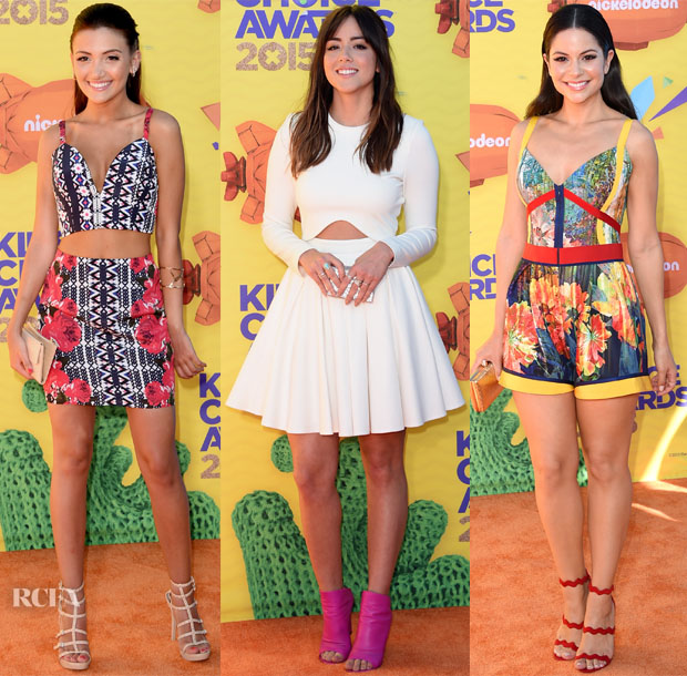 2015 Nickelodeon Kids' Choice Awards Red Carpet Roundup2
