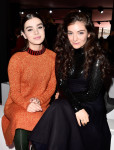 Hailee Steinfeld and Lorde in Christian Dior