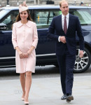 Catherine, Duchess of Cambridge In Alexander McQueen - Commonwealth Service