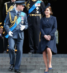 Catherine, Duchess of Cambridge In Beulah London - Service of Commemoration at St Paul's Cathedral