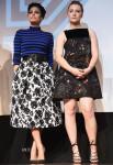 Eva Mendes In Michael Kors & Saoirse Ronan In Valentino - 'Lost River' Q&A SXSW Music, Film + Interactive Festival
