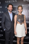 Bradley Cooper in Thom Sweeney and Jennifer Lawrence in Dior Couture